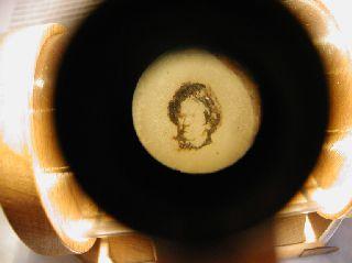 0001; Portrét Ludwiga Van Beethovena na jablečném jádru